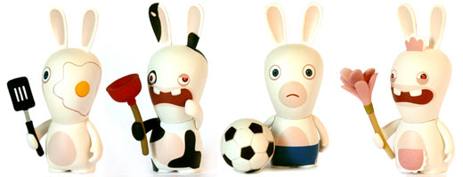 raving rabbids collectibles