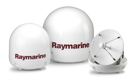 Raymarine HD Satellite Antennae