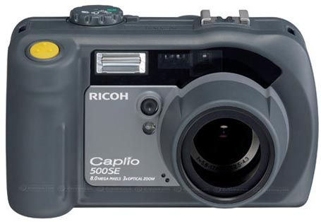Ricoh 500se Camera Encodes Gps Data on Photos