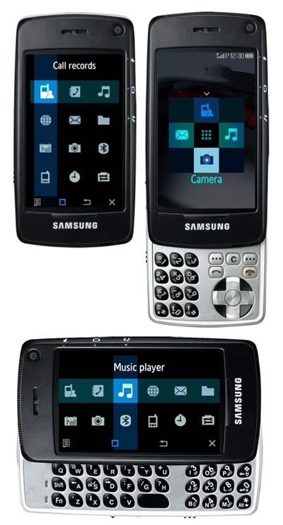 Samsung SGH-F520 Mobile Phone