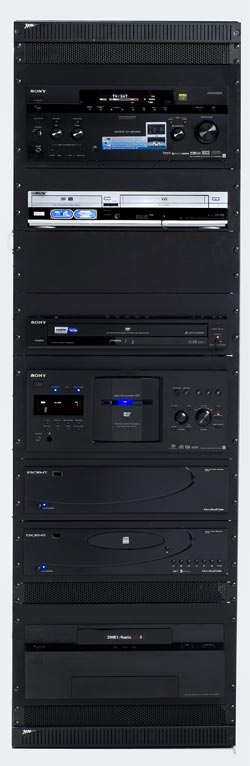 Sony NHS-2030 Whole House A/V Rack System
