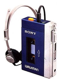Sony Walkman TPS-L2 Portable Cassette Player
