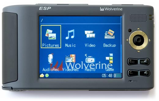 Wolverine ESP 5160 Media Player