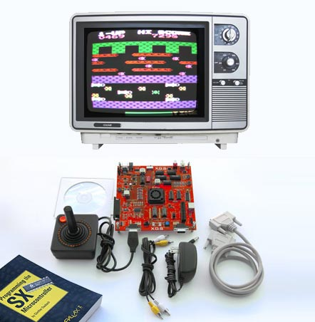 XGS Micro Edition DIY Game Console