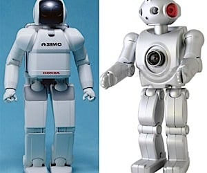 Robot Web Cam and Asimo: Separated at Birth?