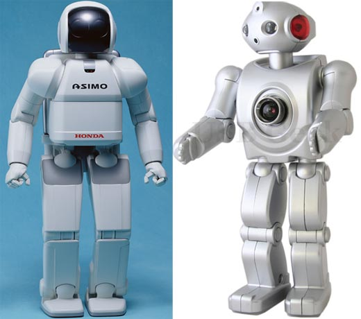 Asimo Compared to USB Robot Cam