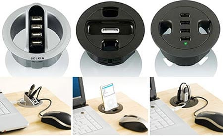In-Desk Hubs and Docks: a Great Idea