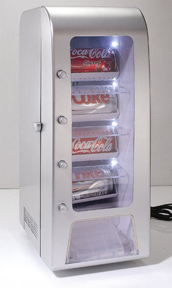 The Desktop Can Vending Fridge