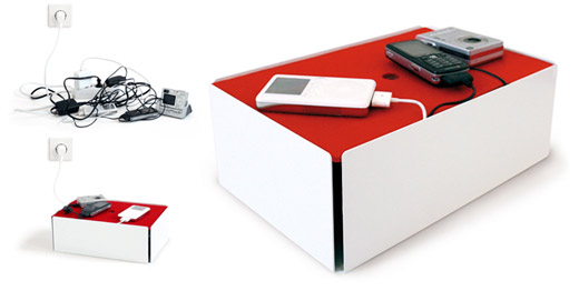 Charge Box: Hide Those Unsightly Chargers and Cords
