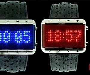 Galaxy Programmable Dot Matrix Scrolling Watch
