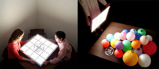 ge oled light