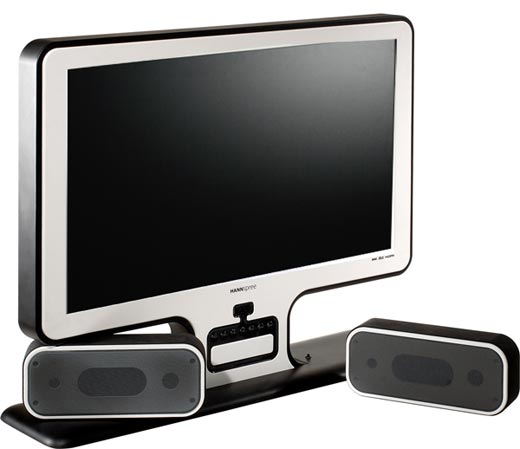 HANNSvibewhite LCD Television