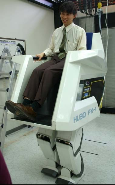 Hubo, the Walking Robot Chair