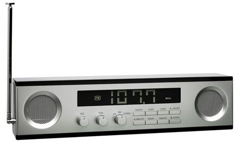 Lexon Wide Screen LCD Am/Fm Clock Radio