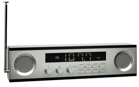 LEXON Wide LCD AM/FM Radio