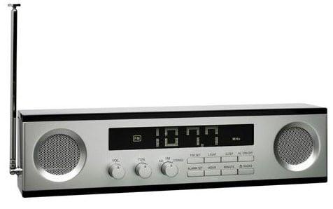 Lexon Wide Screen LCD Am/Fm Clock Radio