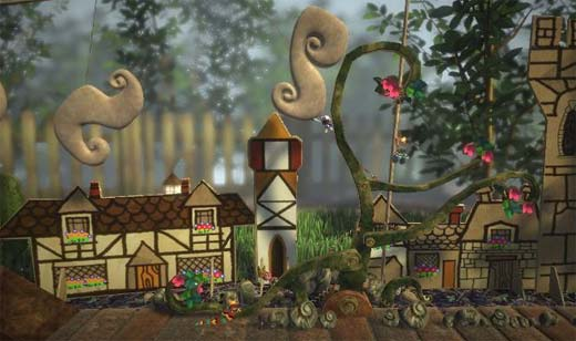 Littlebigplanet for PS3 Looking Impressive