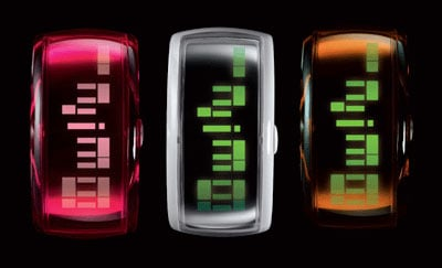O.D.M. Electroluminescent Pixel Watches