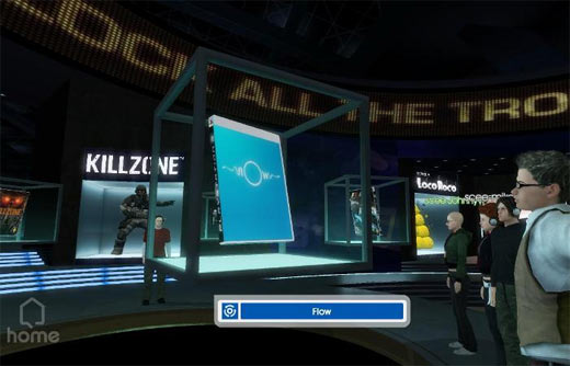 PlayStation 3 Home Lobby preview
