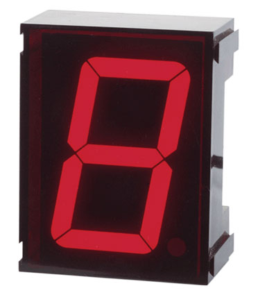Single Digit LED Clock Kit