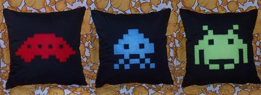 Space Invaders Invade Your Living Room