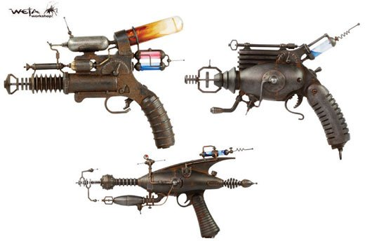 Weta Workshop Handmade Rayguns
