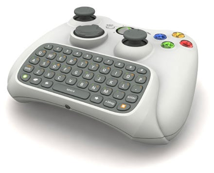 Xbox 360 Qwerty Keyboard Add-on Confirmed