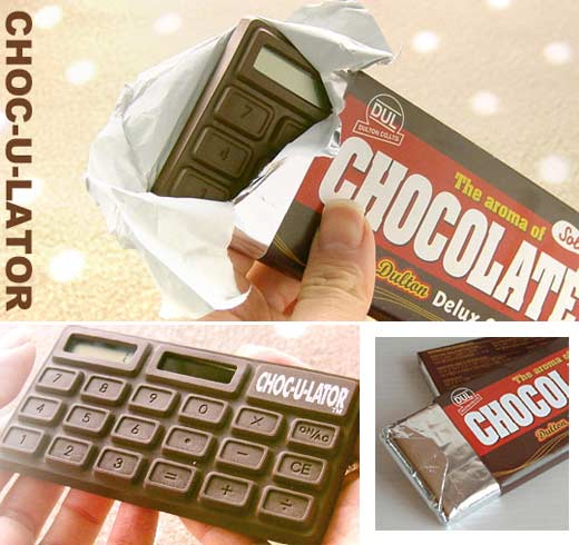Chocolate + Calculator = Choculator