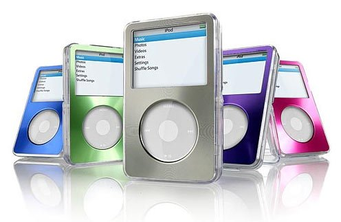 Dlo Videoshell Se: Colorful Metallic iPod Cases