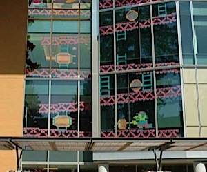 Donkey Kong Post-It Note Art