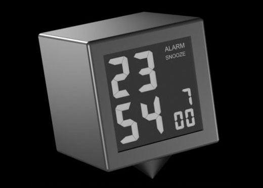 Rosendahl LCD Alarm Clock by Flemming Bo Hansen