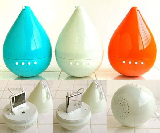 Drop: the Water-Resistant iPod Speaker