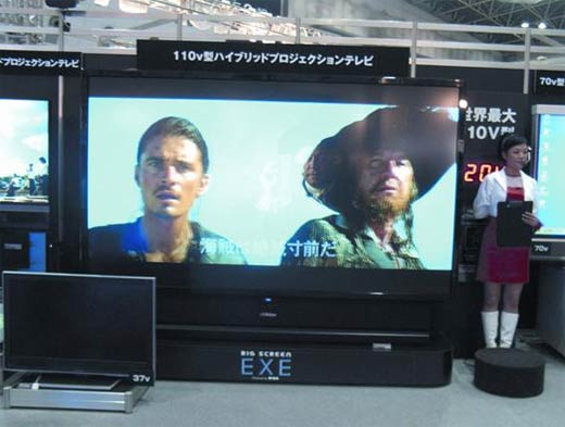 Jvc Shows Giant 110-Inch Rptv