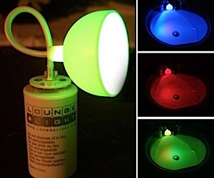 Lounge Light Projector: for a Splash of Color Anywhere