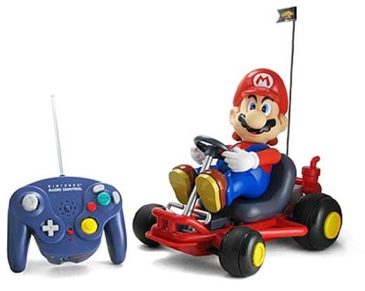 Radio-Controlled Mario Kart Racer