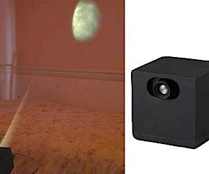 Projector Lets You Moon Yourself