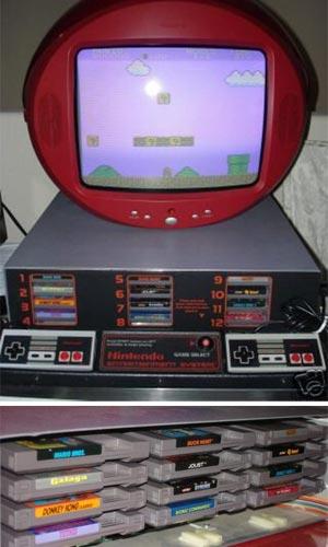 Rare Nintendo Kiosk System on Ebay