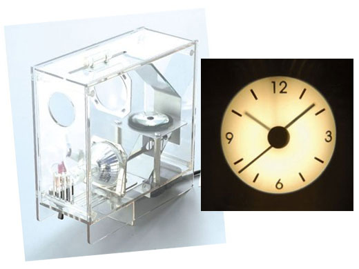 Projector Clock by I.D.E.A.