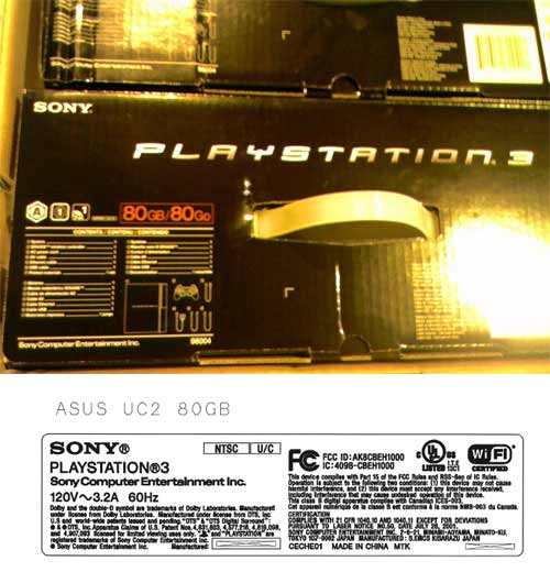 My Theory on the 80gb Playstation 3