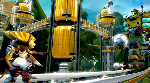Ratchet and Clank Future Tools of Destruction HD Screens