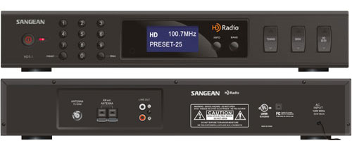 Sangean Hdt-1 Adds HD Radio to Any Stereo System