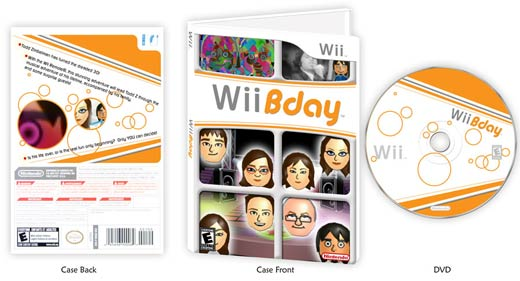 Wii Bday by Paul Pape