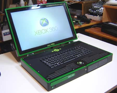 Xbox 360 Laptop Mod V2.0 From Ben Heck