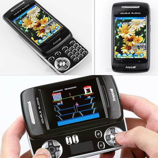 Anycall 5200: Gaming Slider Phone