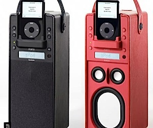 Audio Pro Porto: Turns the iPod Dock on Its Side