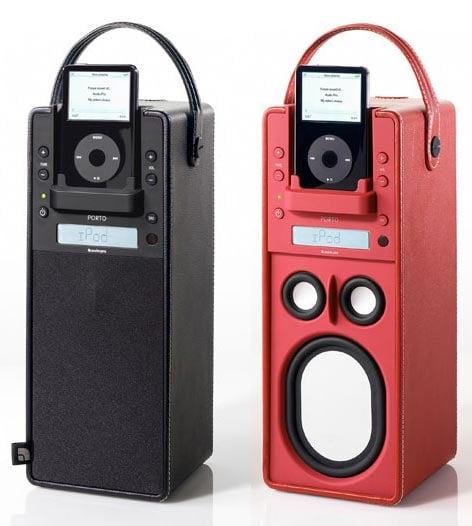 Audio Pro Porto: Turns the iPod Dock on Its Side