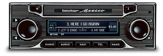 Becker Mexico Car Stereo: a Wolf in Sheep's Clothing