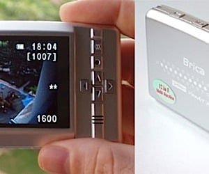 Brica Multimedia Dvr Fits in Your Pocket