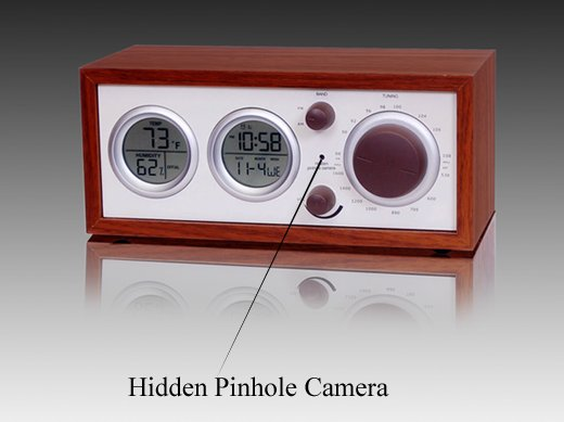 Hidden Camera Spy Alarm