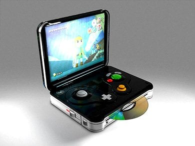 Gamecube Portable Casemod?